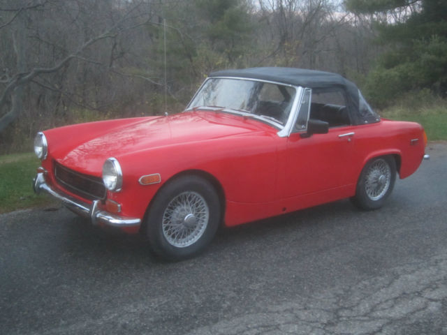1970 MG Midget NO RESERVE Convertible