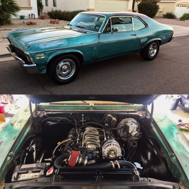 1970 Nova Ls Swap Fuel Injected For Sale  Photos