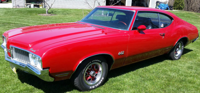 1970 Oldsmobile 442 Base Hardtop 2-Door 455 ci True 442 Not