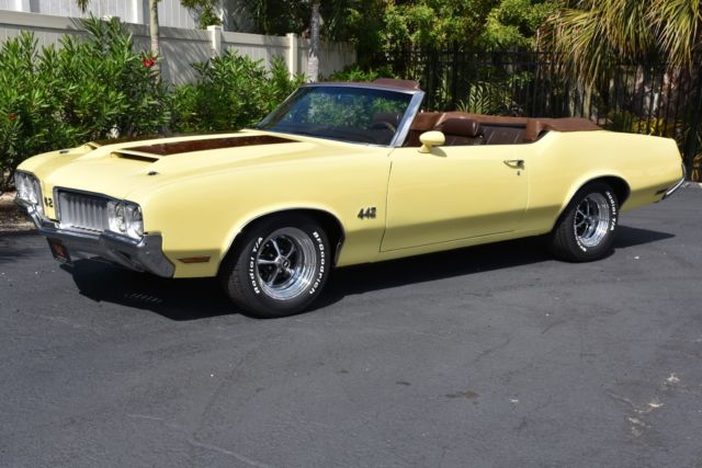 1970 Oldsmobile 442 Convertible 455Ci V8 Auto #s Matching