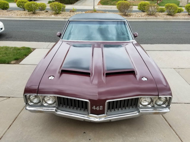 1970 Oldsmobile 442 442 Holiday Coupe