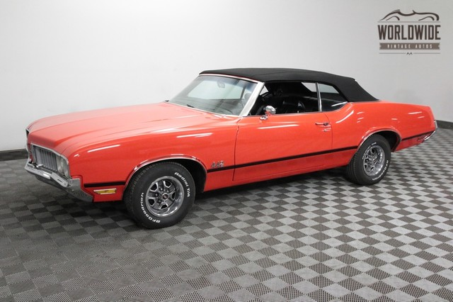 1970 Oldsmobile Cutlass 442 Tribute Convertible