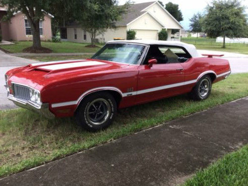 1970 Oldsmobile Cutlass Convertible 442 tribute