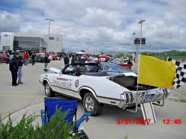 1970 Oldsmobile Cutlass Indy Pace Car Cutlass Supreme