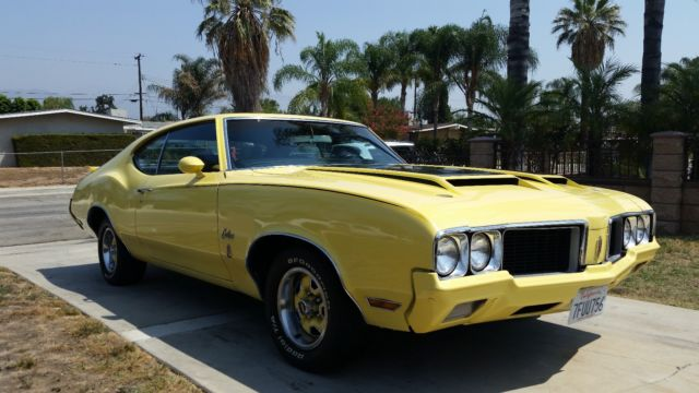 1970 Oldsmobile Cutlass RALLYE 350 CUTLASS
