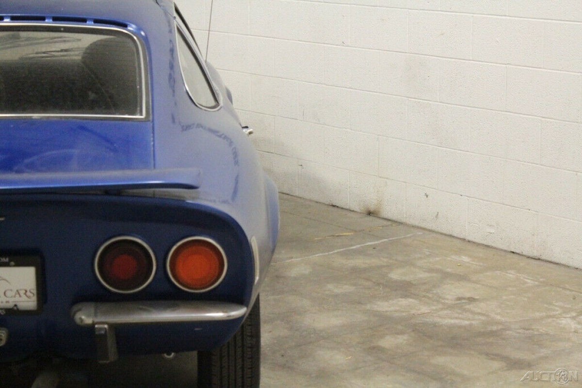 1970 Blue Opel Coupe with Black interior