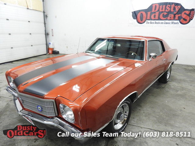 1970 Chevrolet Monte Carlo Runs Drives Body Inter VGood 454V8 Big Block