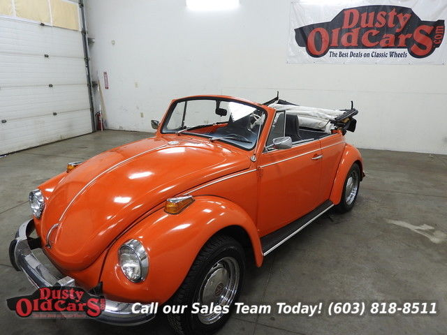 1970 Volkswagen Beetle - Classic Runs Drives Body Interior VGood New Top