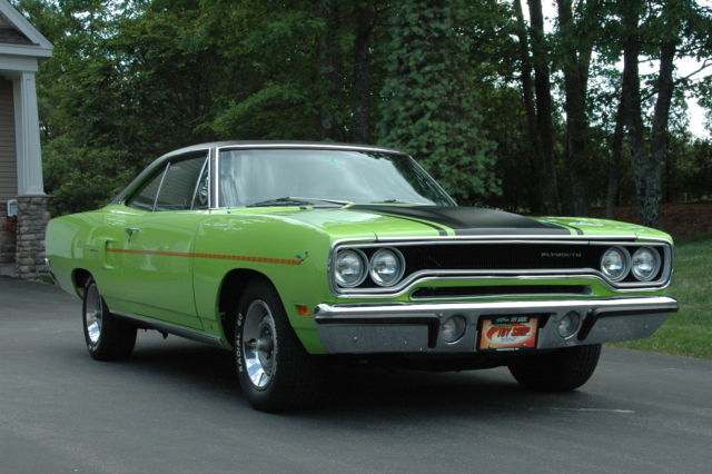 1970 Plymouth 383 Road Runner Restored Rare Classic Antique Muscle