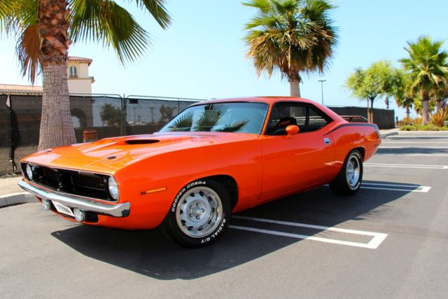 1970 Plymouth Barracuda BARRACUDA CUDA