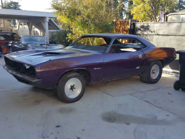 1970 Plymouth Barracuda Project CUDA 1971 for sale: photos