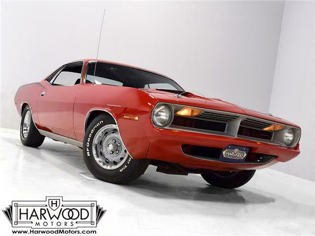 1970 Plymouth Cuda 440+6  84414 Miles Rallye Red  440 cubic inch V8 3-speed auto