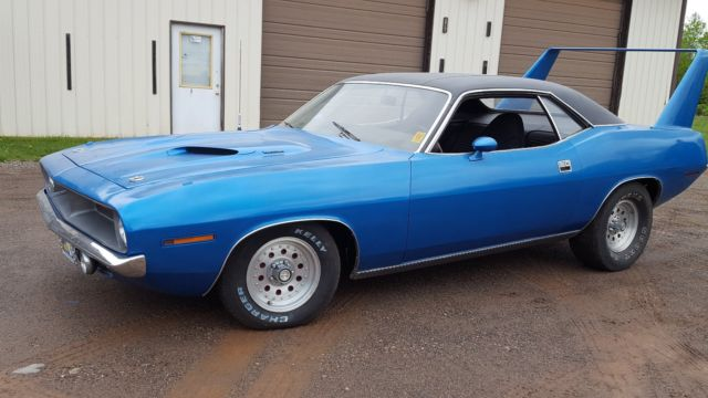 1970 Plymouth Barracuda Manual Transmission, 2nd Owner, 68k Original Miles
