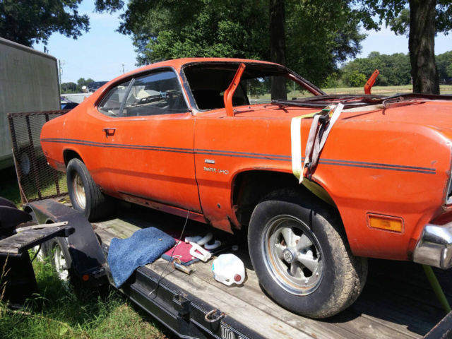 1970 plymouth duster 340 4 speed parts car or project for sale photos technical specifications. Black Bedroom Furniture Sets. Home Design Ideas