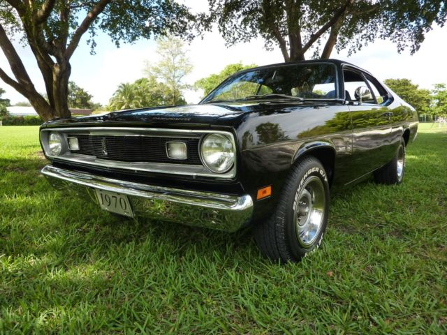 1970 plymouth duster 340 4speed factory original tx9 black car totally redo. Black Bedroom Furniture Sets. Home Design Ideas