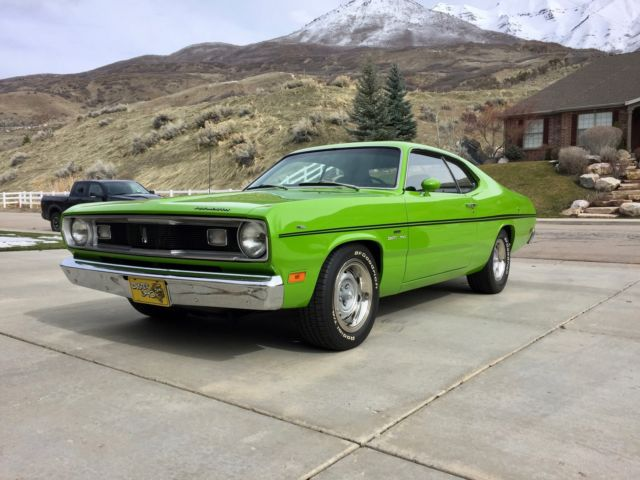 1970 plymouth duster 340 5 6l concourse restoration \u0027s matching