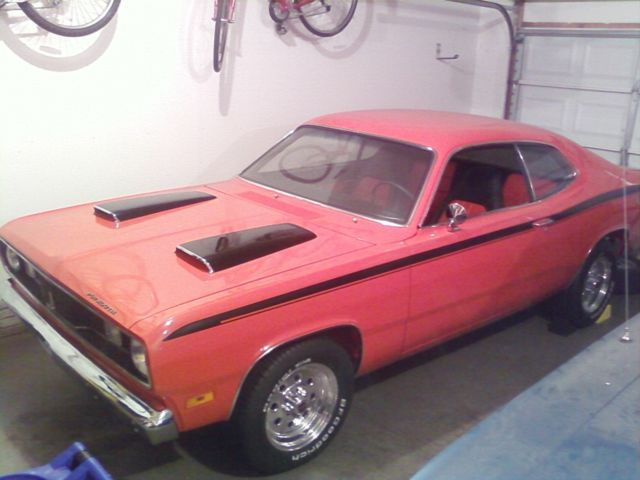 1970 Plymouth Duster Set up for Drag Car
