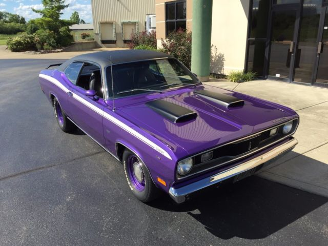 1970 Plymouth Duster Factory IN-Violet Plum Crazy Purple