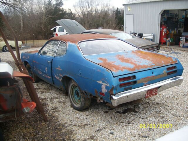 1970 PLYMOUTH DUSTER VALIANT SPORTS COUPE PARTS PROJECT