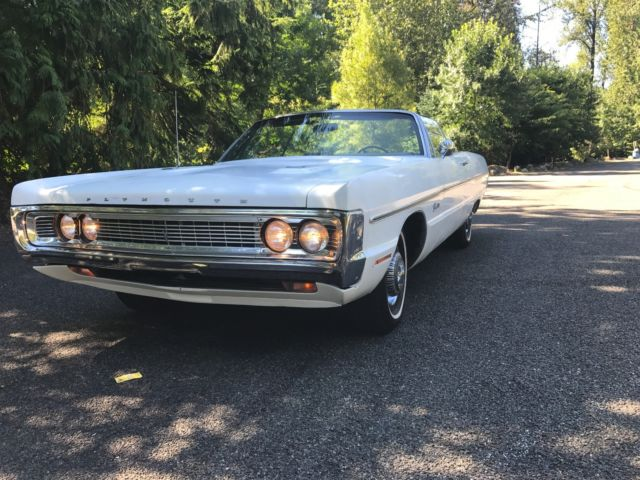 1970 Plymouth Fury Fury 3 convertible