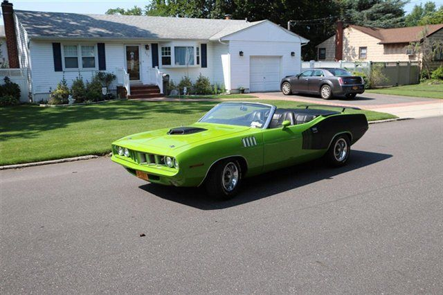 1970 plymouth hemi cuda convertible clone 1971 for sale photos technical specifications. Black Bedroom Furniture Sets. Home Design Ideas