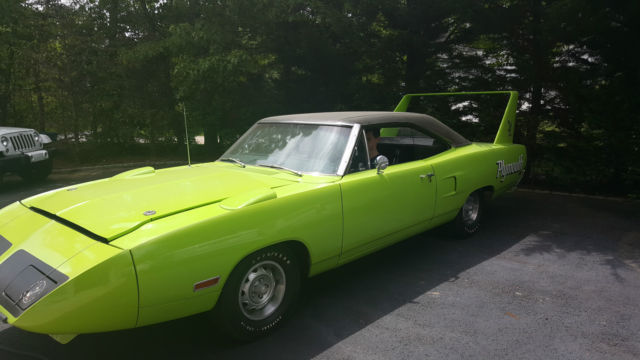 1970 Plymouth Superbird Super Bird