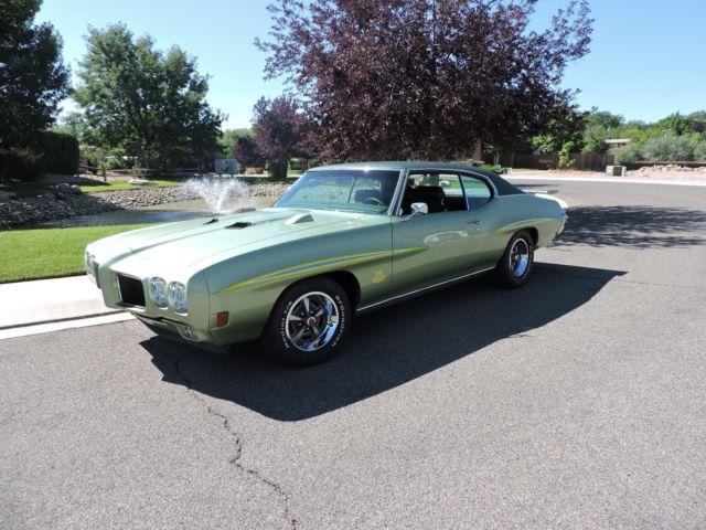 1970 pontiac GTO 4 speed rare low mile fram off restored