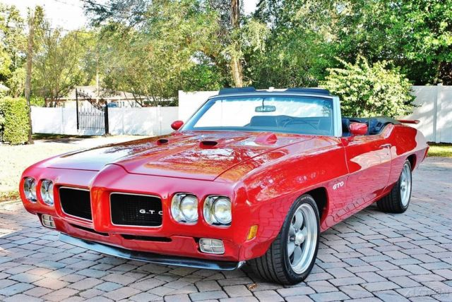 1970 Pontiac Le Mans Convertible 400 CI, Power Steering & Brakes