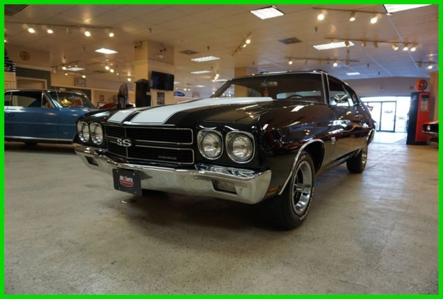 1970 Chevrolet Chevelle REAL SS DOCUMENTED W/ ORIGINAL BUILD SHEET