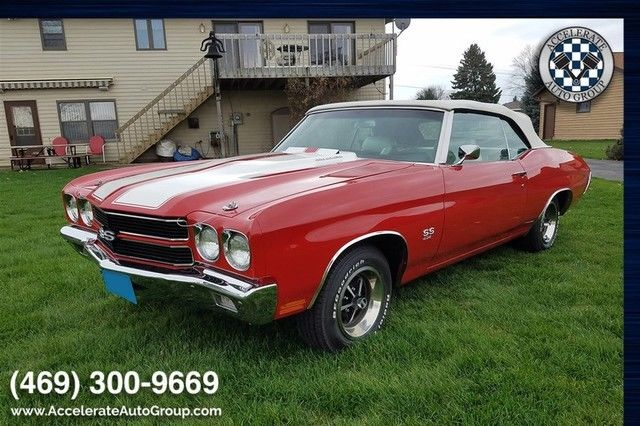 1970 Chevrolet Chevelle 454 4 speed Manual Convertible