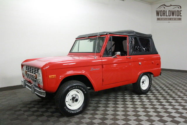1970 Ford Bronco UNCUT! EXTENSIVE RESTORATION! NEW TOP. OPTIONS!