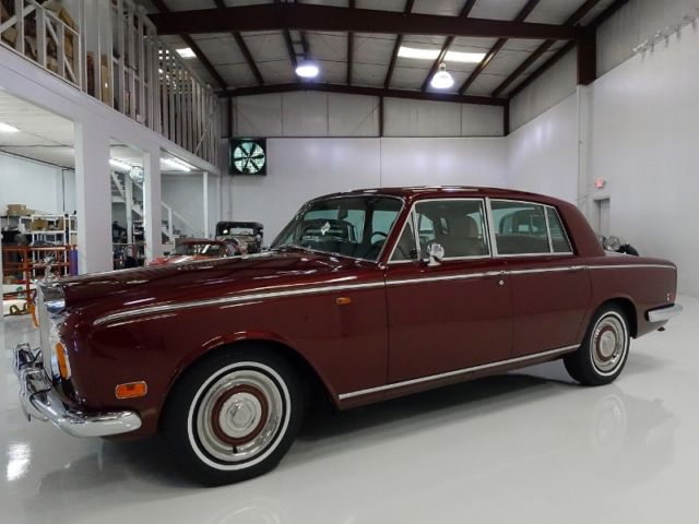 1970 Rolls-Royce Silver Shadow Saloon, ONLY 12,307 ACTUAL MILES!