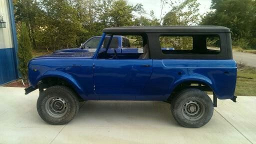 1970 International Harvester Scout sr2