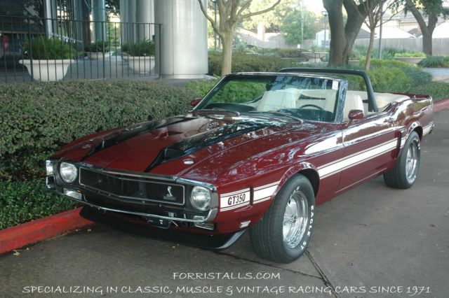 1970 Shelby Cobra GT 350 Convertible