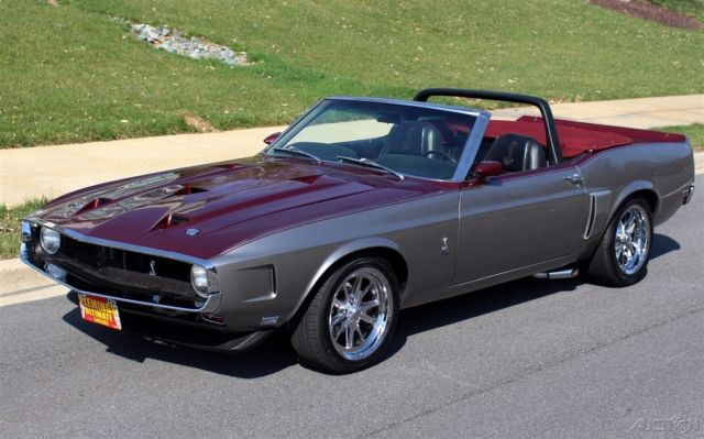 1970 Ford Mustang Shelby GT350 Convertible