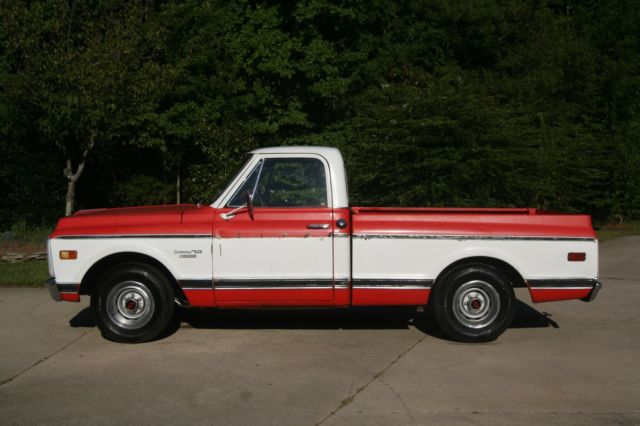 1970 Chevrolet C-10 SHORT BED