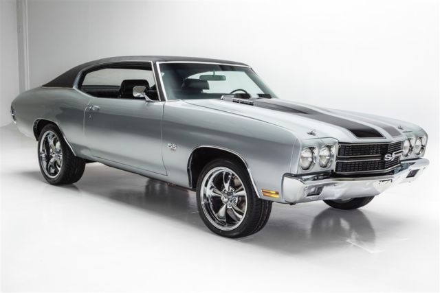 1970 Chevrolet Chevelle Silver, 454 4-Speed