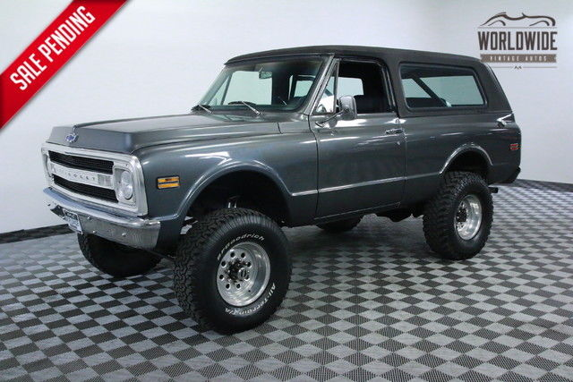 1970 Chevrolet Blazer HIGH DOLLAR BUILD AND RESTORATION!