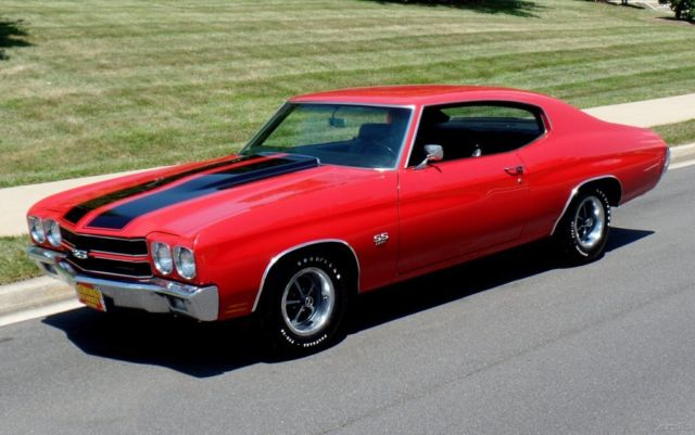 1970 Chevrolet Chevelle SS396 fully documented matching numbers & factory