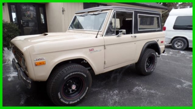1970 Ford Bronco SUPER RARE-RUST FREE