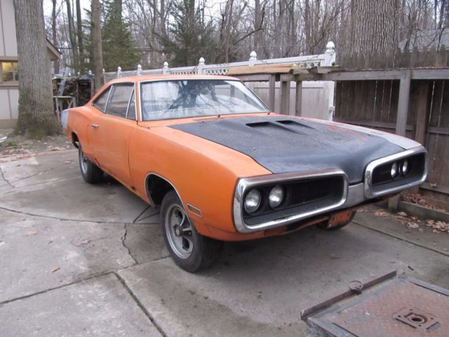 1970 Dodge Coronet Super Bee 6pk 4spd coupe one of 109
