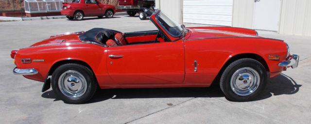 1970 Triumph Spitfire Mark III. One owner 35 years. Low ...