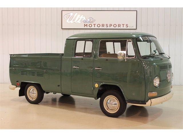 1970 Volkswagen Bus Vanagon Double Cab Transporter 4 Sd Manual 3 Door Truck