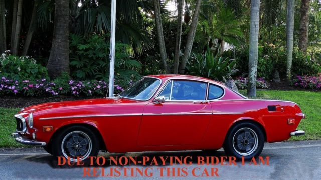 1970 Volvo P1800 SPORT COUPE FACTORY LOOK