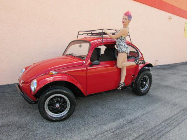 1970 Vw Beetle Baja Bug Show Car 1641cc Cr Shift See 60