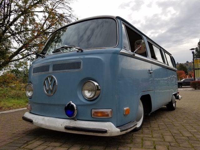 1970 Vw Bus Baywindow Deluxe Bay Window Not Split Window