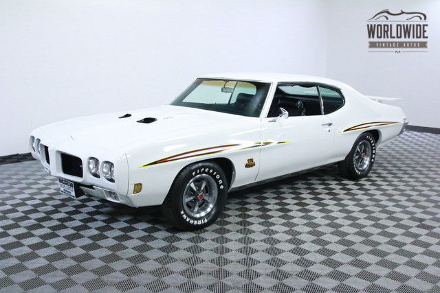 1970 Pontiac GTO JUDGE V8 AUTO PHS DOCUMENTED