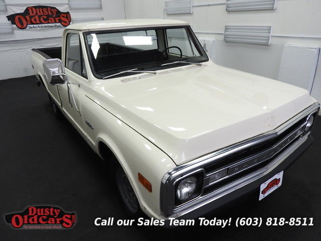 1970 Chevrolet C20 Runs Drives Body Inter VGood 292I6 4 spd manual