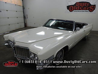 1970 Cadillac DeVille Runs Drives Great Body Intr VGood Minor TLC