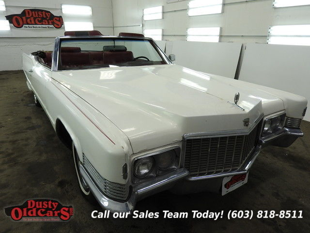 1970 Cadillac DeVille Runs Yard Drives Body Inter Good 472V8 Needs TLC
